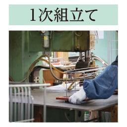 オールステンレス製 シンクに渡せる水切り フッ素加工トレー付きスリムロング 金属加工の町〈新潟・燕市〉 世界トップクラスの金属加工技術