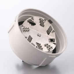 サイレントミルサーおろしカッター付き おろしカッター 力がいる大根おろしや手が滑る山芋なども、あっという間にすりおろせます。
