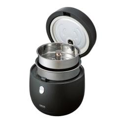 AINX スマートライスクッカー 糖質カット炊飯器 付属のトレーをセットするだけで糖質カットが出来ちゃいます。