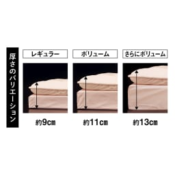 抗菌コンパクト&ワイド ファミリー布団 ベーシック 幅320cm(5~6人用)(上層パッド+下層マットセット)