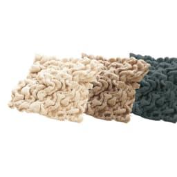 イタリア製フィットカバー[ブックレ] カーシートカバーお得な同色2枚組 左から(ア)アイボリー(イ)ライトブラウン(ウ)ダークグレー