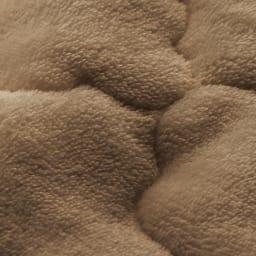簡単取り外し洗える ボリュームラグ(カーペット) [素材アップ](ウ)ブラウン
