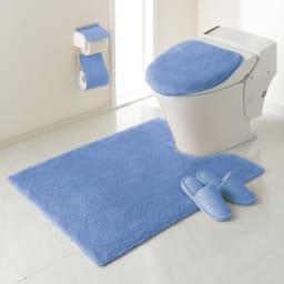 エスタルト トイレマット単品 普通判マット:(ア)ブルー  ※マット単品になります。その他の商品は別売りです。