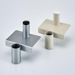 ダイソン専用 スティッククリーナースタンドZERO 収納力アップパーツ単品(3個組) 写真