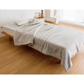 シングルセット(あったかシルク混毛布シリーズ お得な掛け+敷きセット) 写真