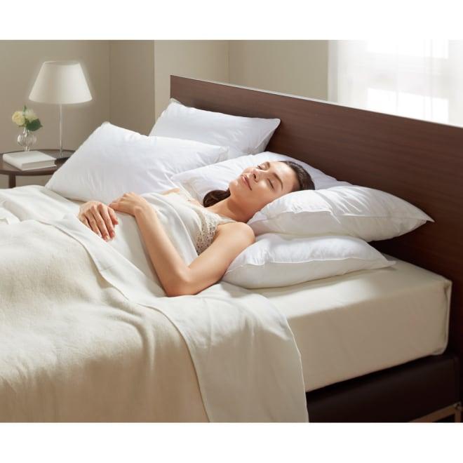 正方形判 (フォスフレイクス 安眠枕 お得な2個セット(枕のみ))