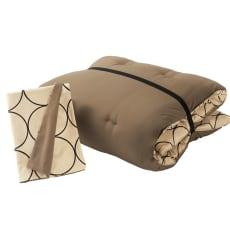 寝心地こだわりごろ寝布団 洗える専用カバー付きセット