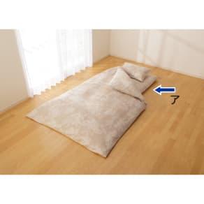 2段ベッド用 (綿100%のダニゼロック 敷布団カバー) 写真