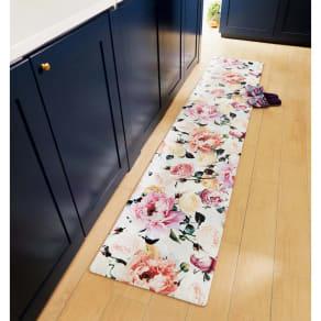 約50cm×120cm(デザイナーズ・ギルドPVCキッチンマットトゥーランジェル) 写真