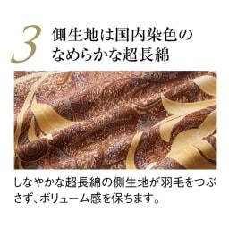 最高位ラベル取得ポーランド産マザーグースプレミアム羽毛掛け布団 立体2層羽毛布団