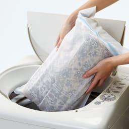 ポーロモケット織廊下敷き 幅80cm ネットに入れて洗濯機で洗えます。