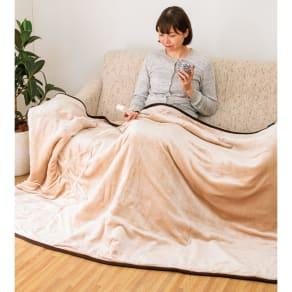 HEAT CRACKER 洗える電気毛布シリーズ 掛け毛布 写真
