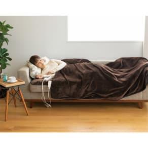 HEAT CRACKER 洗える電気毛布シリーズ 電磁波カット 掛け毛布 写真