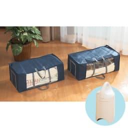 圧縮ボックス スピードキューブお得なセット(2個+吸引機エアッシュ) 圧縮ボックス2個にエアッシュが付いたコンプリートセット