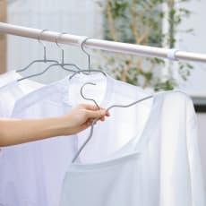 MAWA(マワ)洗濯ハンガー レディススリム