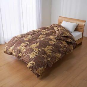 セミダブルロング(マザーグースプレミアム羽毛掛け布団 2枚合わせ羽毛布団) 写真