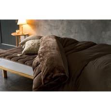 クレスカローレシリーズ お得な掛け敷きセット(オールインワン毛布+敷きパッド)