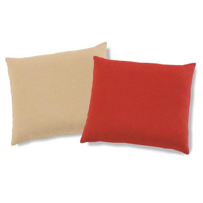 スペイン製はっ水 フィットカバー[サマンサ] 座布団カバー 色が選べる2枚 ※お好きな色の組み合わせでご購入いただけます。 ※写真は左から(ア)ライトベージュ系(ウ)レッド系