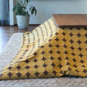 正方形(ズレない&カバーが洗えるこたつ掛け布団〈ヴァイレ〉) 写真
