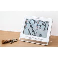 タニタ デジタル温湿度時計