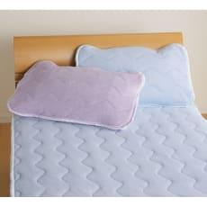 身体に巻き付けて眠りたいひんやりさらり感 接触冷感のびのびパイルケットシリーズ 枕パッド