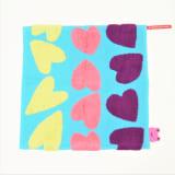 【アツコマタノ/ATSUKO MATANO】ウォッシュタオル同色2枚組 ビッグハート 写真