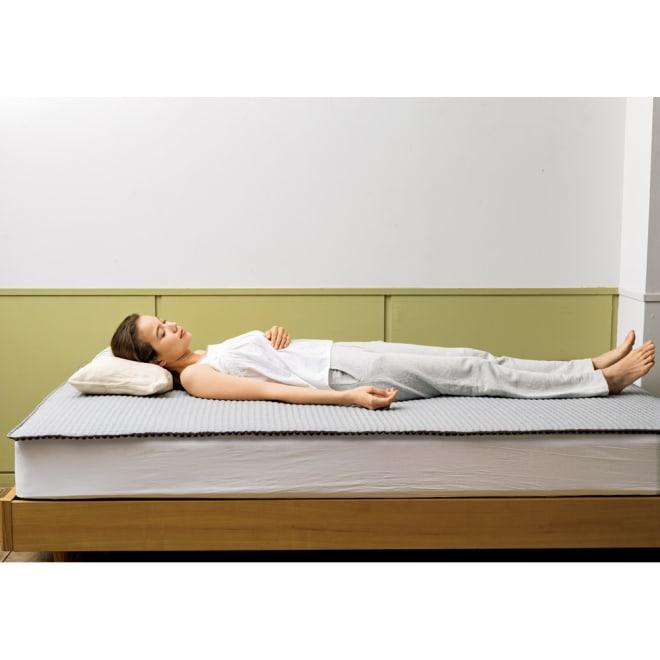ラクネル ベッドパッド