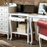 アンティーククラシックシリーズ アンティーク風パソコンテーブル(机) 写真