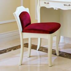 エレガントラインホワイト家具シリーズ スツール