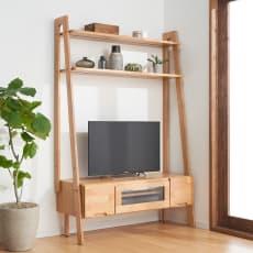 北欧風リビングシェルフシリーズ テレビ台 幅115cm