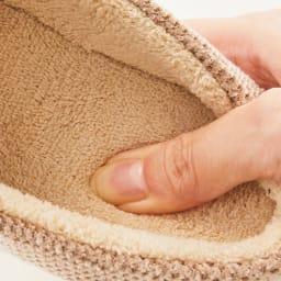 バイデワン スリッパ選べる2点セット 温かでふわふわな肌触りのカットパイル生地。