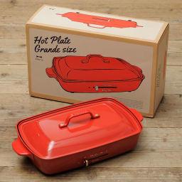 BRUNO/ブルーノ ホットプレート グランデサイズ お届けするのはこちらのグランデサイズになります。箱もかわいい!