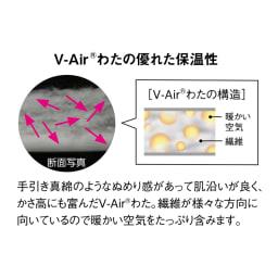 V-Air(R)使用あったか着る布団シリーズ 肩カバー
