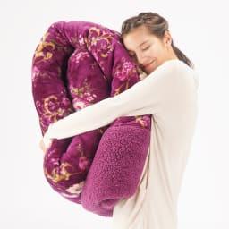 西川 ボリュームシープ調掛け布団シリーズ 掛け布団 お得な2色組 一枚でこのボリューム感なのに、軽いんです!