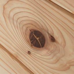 国産杉 1cmピッチ頑丈シェルフ 幅100奥行19本体高さ93cm 【自然の風合い】天然の節目を生かした自然のままの木肌は、永く使うほどに風合いが深まる愉しみを味わえます。
