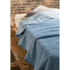 シルクのような光沢となめらかさ プレミアムベビーアルパカ 掛け毛布