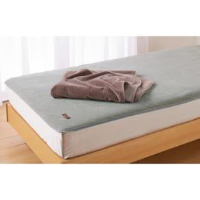 西川 ウール素材インナーブランケット(R) 敷き毛布 シングル 写真