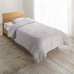 暖かさと肌へのやさしさを考えたFUWARMシリーズ お得な毛布+敷きセット 毛布+敷きパッド シングル 写真