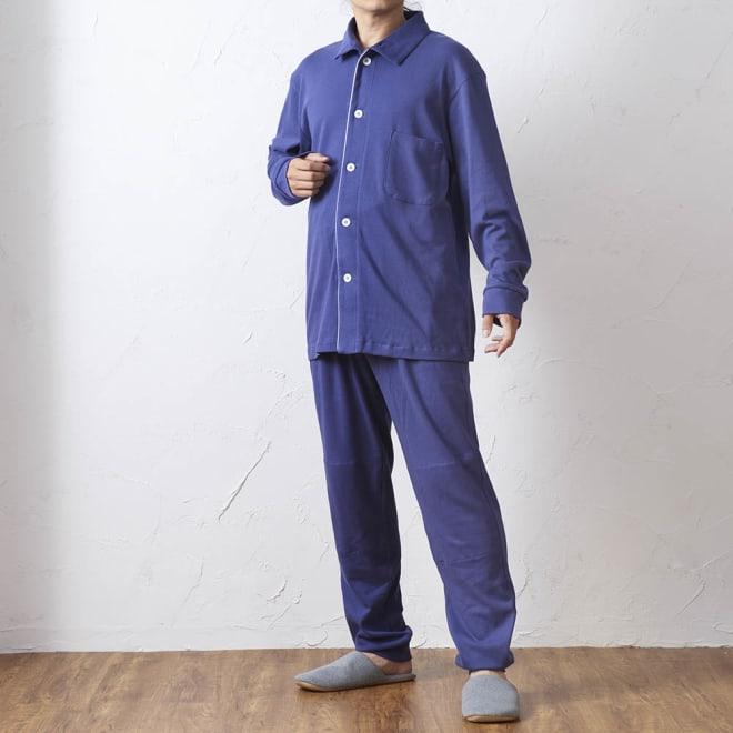天然素材なのに吸湿発熱 ヒートコットン パジャマ メンズ