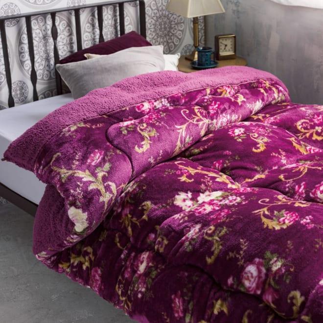 西川 ボリュームシープ調掛け布団シリーズ 掛け布団 お得な2色組 一枚で使えてラクラク。来客用にもぴったり。