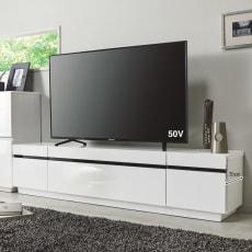 ホワイト光沢仕上げテレビ台シリーズ テレビ台 幅170高さ39cm