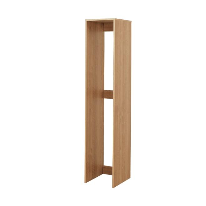 天然木調すき間収納本棚 2列用ボックス単品 (ア)ブラウン