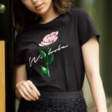 WORDROBE/ワードローブ スパンコール使いTシャツ 写真