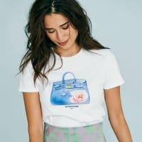 WORDROBE/ワードローブ プリントTシャツ