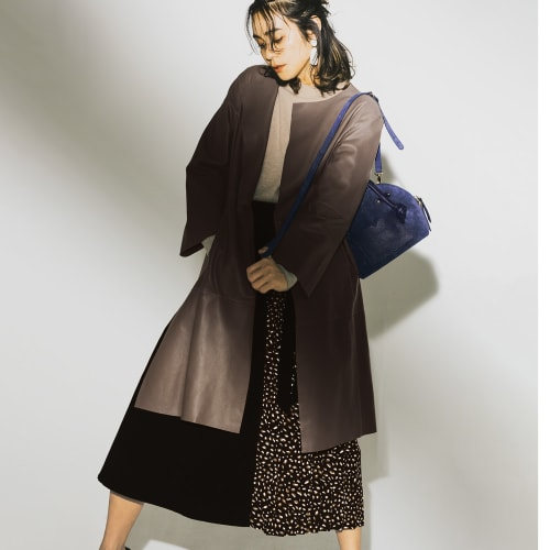 イタリア糸 ウール混 ニットシリーズ クルーネック ニットプルオーバー 画像