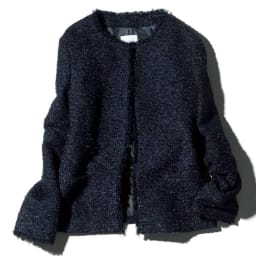 別注ツイード シリーズ お得なセット(フリンジジャケット+ハイウエストタイトスカート)