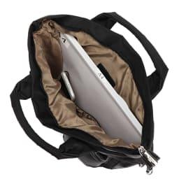 BARCOS/バルコス レザー使い3ウェイバッグ A4横サイズ収納可/138mm×67mmスマートフォン内ポケット収納可