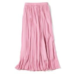 エアリーフロー きれい色スカート (ア)ピンク