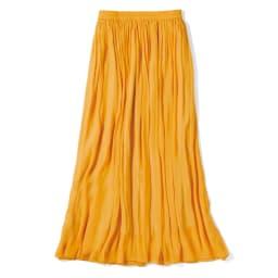 エアリーフロー きれい色スカート (イ)イエロー