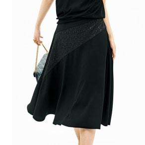 ジャカード使い切り替え デザインスカート 写真